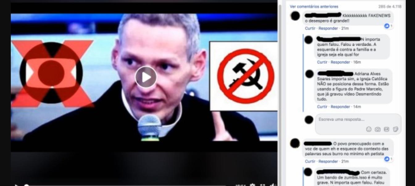 Padre Marcelo Rossi nega apoio a Bolsonaro - Foto/Divulgação