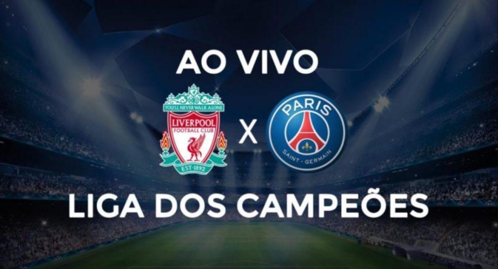 Liverpool x PSG ao vivo - Foto/Divulgação