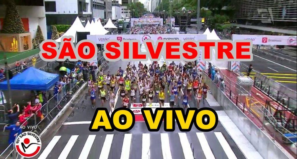São Silvestre ao vivo - Foto/Montagem