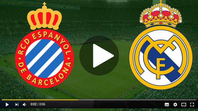 Espanyol x Real Madrid ao vivo - Foto/Divulgação