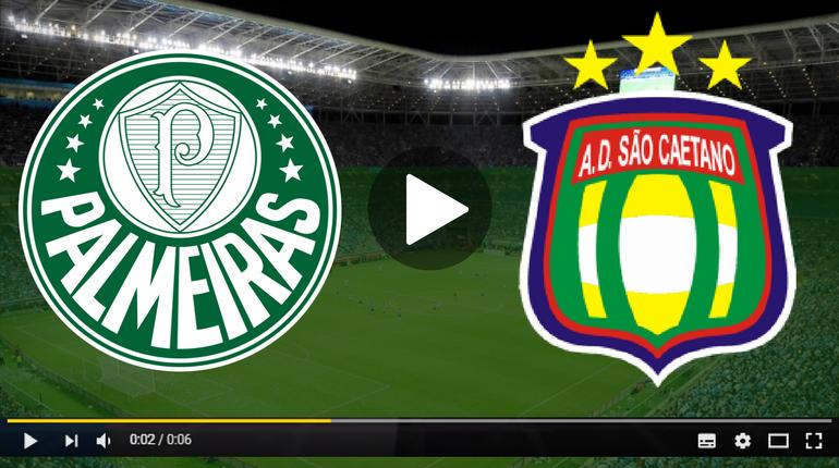 Palmeiras x São Caetano ao vivo - Foto/Divulgação