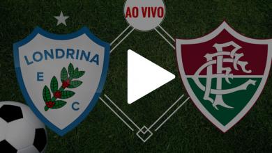 Londrina x Fluminense ao vivo - Foto/Divulgação