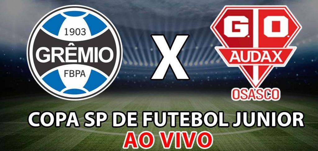 Grêmio x Audax ao vivo - Foto/Divulgação