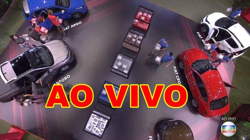 Prova de resistência do BBB ao vivo - Foto/Divulgação
