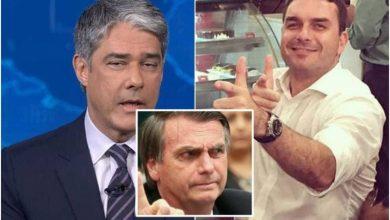 Globo usa 'Jornal Nacional' para falar mal da família Bolsonaro - Foto/Divulgação
