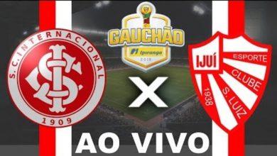 Internacional x São Luiz ao vivo - Foto/Divulgação