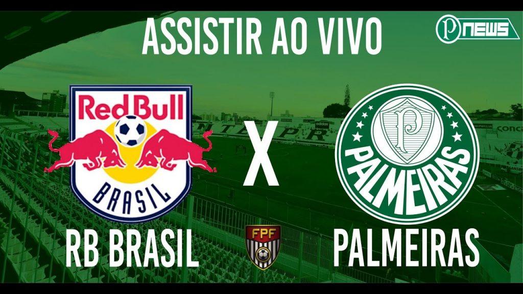 Palmeiras x Red Bull ao vivo - Foto/Divulgação