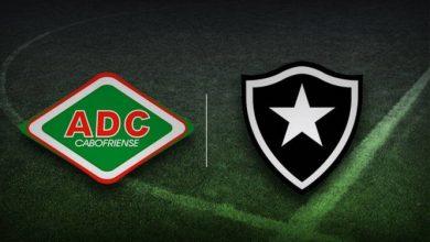 Botafogo x Cabofriense ao vivo - Foto/Divulgação