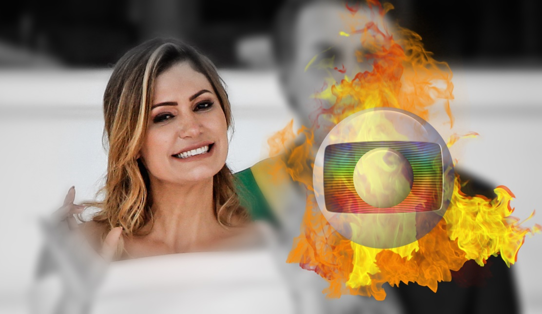 Michelle Bolsonaro prefere Record à Globo - Foto/Divulgação