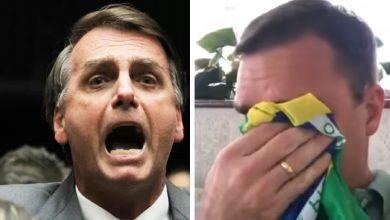 Flávio Bolsonaro leba bronca do pai, após divulgação de dados bancários - Foto/Divulgação