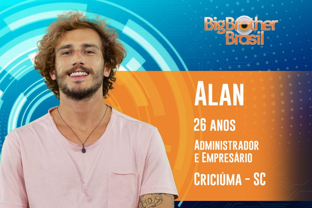 Alan, empresário de Santa Catarina, é o primeiro participante do BBB 19 - Foto/Divulgação