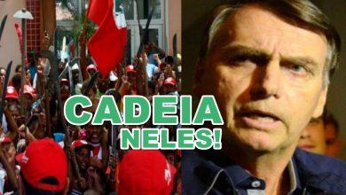 Bolsonaro quer equipar terrorismo a agir pelo MST - Foto/Divulgação