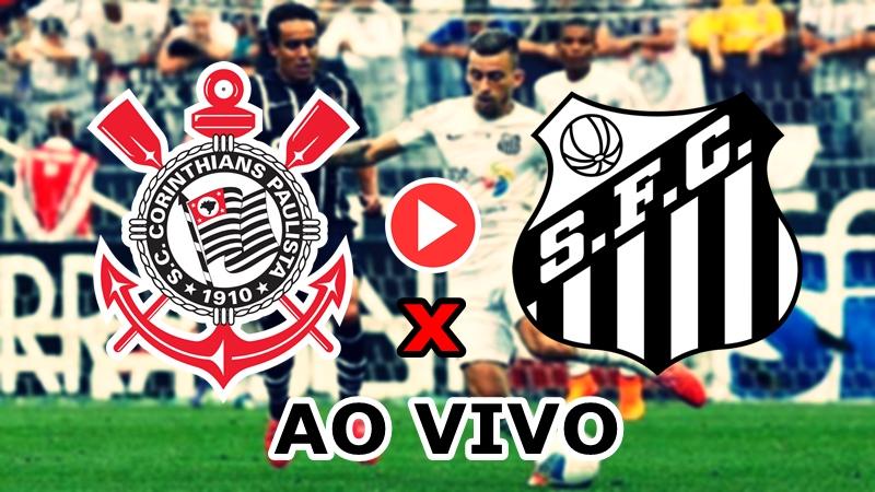 Santos x Corinthians ao vivo - Foto/Divulgação