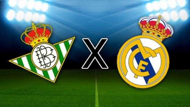 Real Madrid x Betis ao vivo - Foto/Divulgação