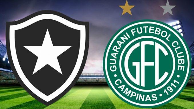 Botafogo x Guarani ao vivo - Foto/Divulgação