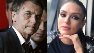 Isabelle Drummond surpreende com publicação sobre Bolsonaro - Foto/Montagem