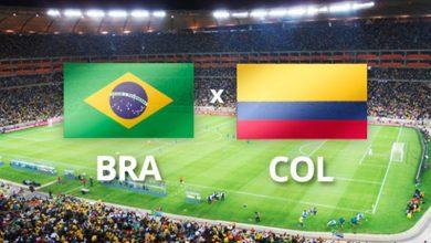 Brasil x Colômbia ao vivo - Foto/Divulgação