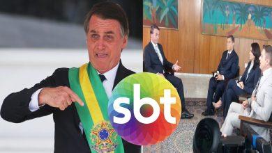 Bolsonaro prefere SBT como primeira emissora a dar entrevista, após posse como presidente - Foto/Divulgação: SBT