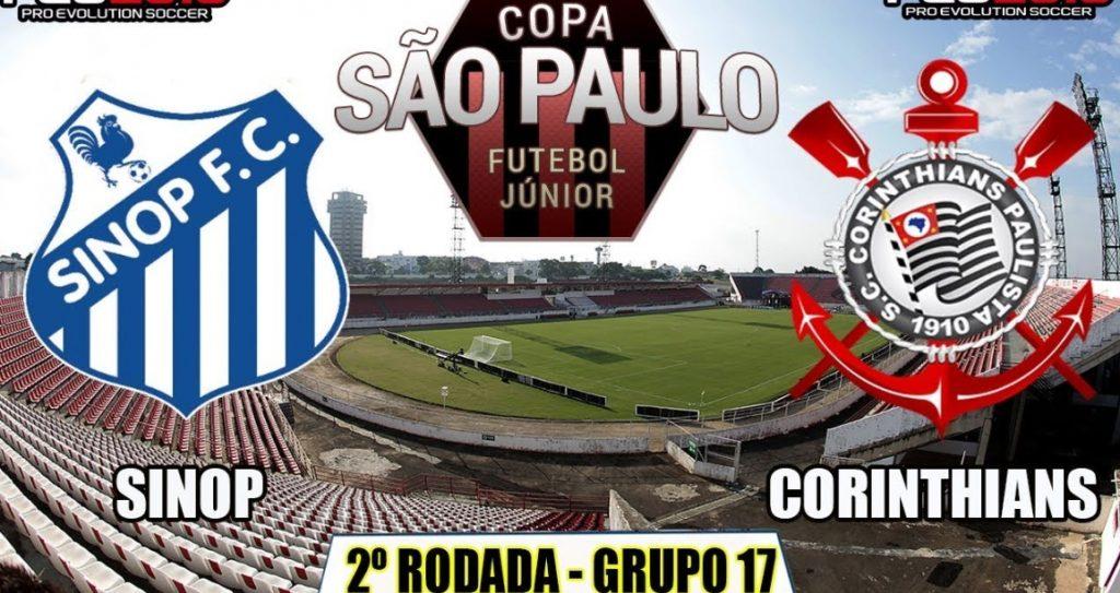 Corinthians x Sinop ao vivo - Foto/Divulgação