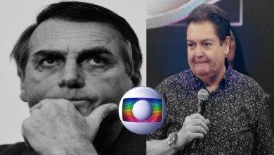 Faustão é acusado de comprar briga com Bolsonaro na Globo - Foto/Divulgação