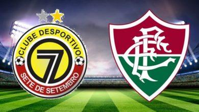 Sete de Dourados x Fluminense ao vivo - Foto/Divulgação