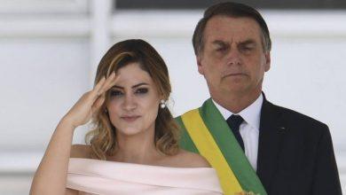 Michelle Bolsonaro é a primeira esposa de político a fazer discurso em posse presidencial - Foto/Reprodução