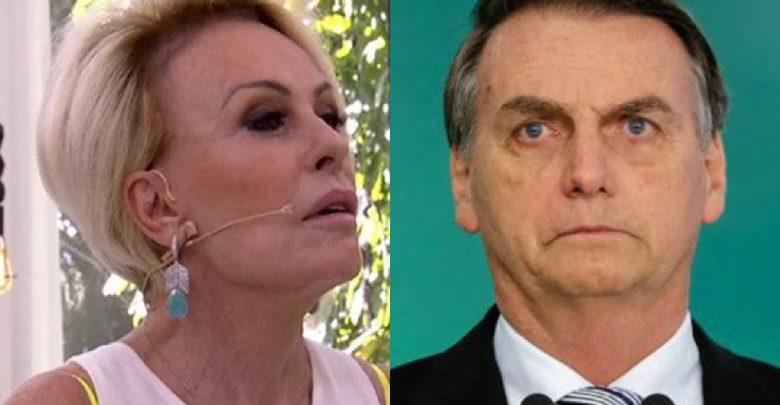Ana Maria Braga sofre ataques do PT por apoio a Bolsonaro - Foto/Divulgação