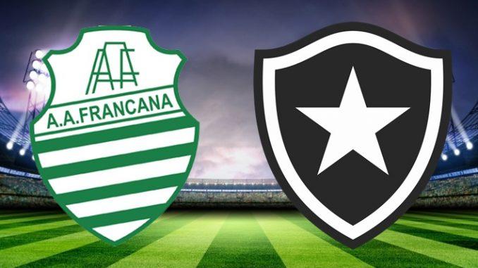 Francana x Botafogo ao vivo - Foto/Divulgação