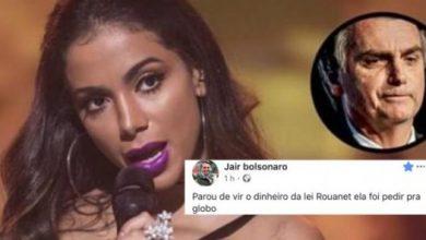 Anitta saiu do Brasil por Bolsonaro - Foto/Divulgação