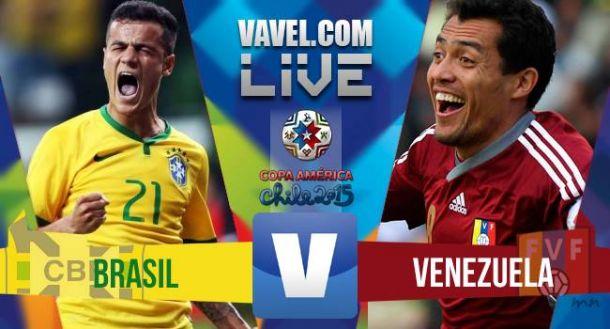 Brasil x Venezuela ao vivo - Foto/Divulgação
