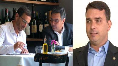 Flávio Bolsonaro acusa MP e Globo de perseguição - Foto/Divulgação