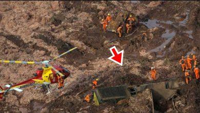 Ônibus da Vale é achado soterrado - Foto/Divulgação