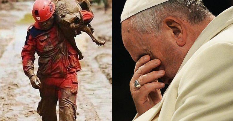 Papa Francisco fala sobre a tragédia envolvendo Brumadinho - Foto/Divulgação