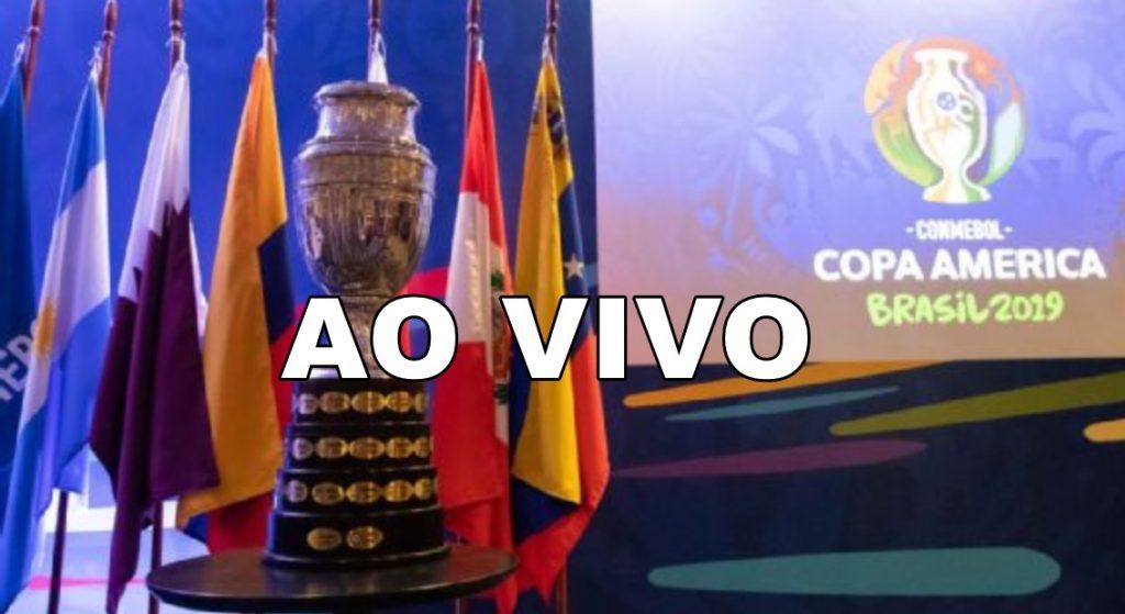 Sorteio Copa América ao vivo - Foto/Divulgação