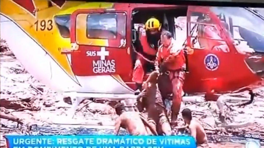 Resgate dramático à vítima de Brumadinho emociona o Brasil - Foto/Divulgação