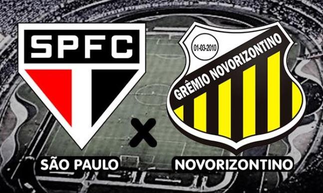 São Paulo x Novorizontino ao vivo - Foto/Divulgação
