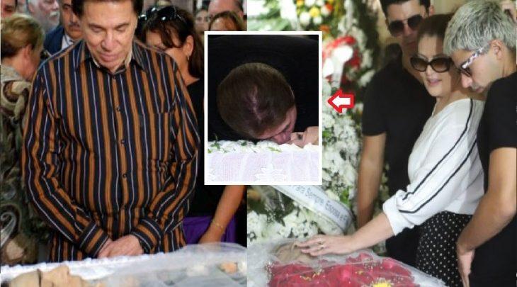 Silvio Santos envia coroa de flores com condolências para família de Wagner Montes - Foto/Divulgação