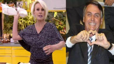 Ana Maria Braga manda recado a favor de Bolsonaro na Globo - Foto/Divulgação
