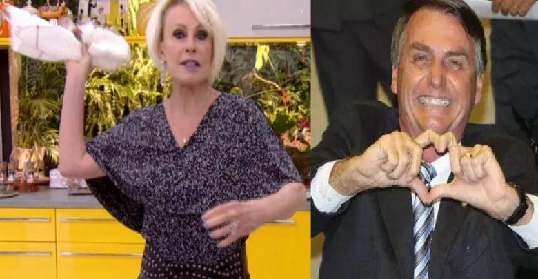 Ana Maria Braga surpreende ao desejar melhora de Jair Bolsonaro