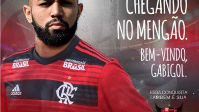 Gabigol é anunciado oficialmente no Flamengo - Foto/Divulgação