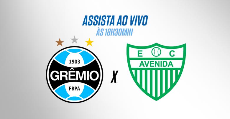 Grêmio x Avenida ao vivo - Foto/Divulgação