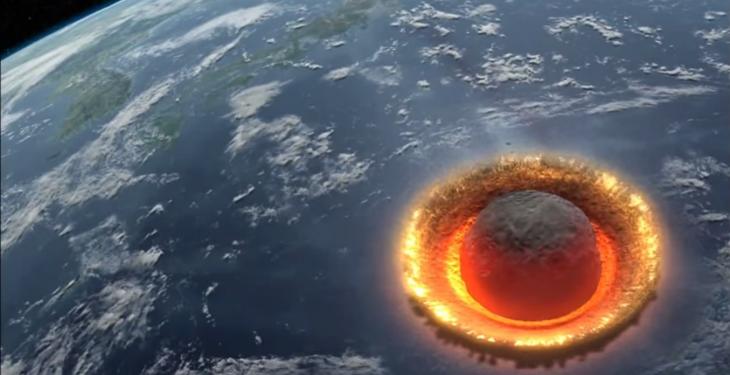 Meteoro não vai cair na terra, avisa Nasa, após fake news ser difundida - Foto/Divulgação