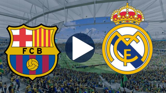 Barcelona x Real Madrid ao vivo - Foto/Divulgação