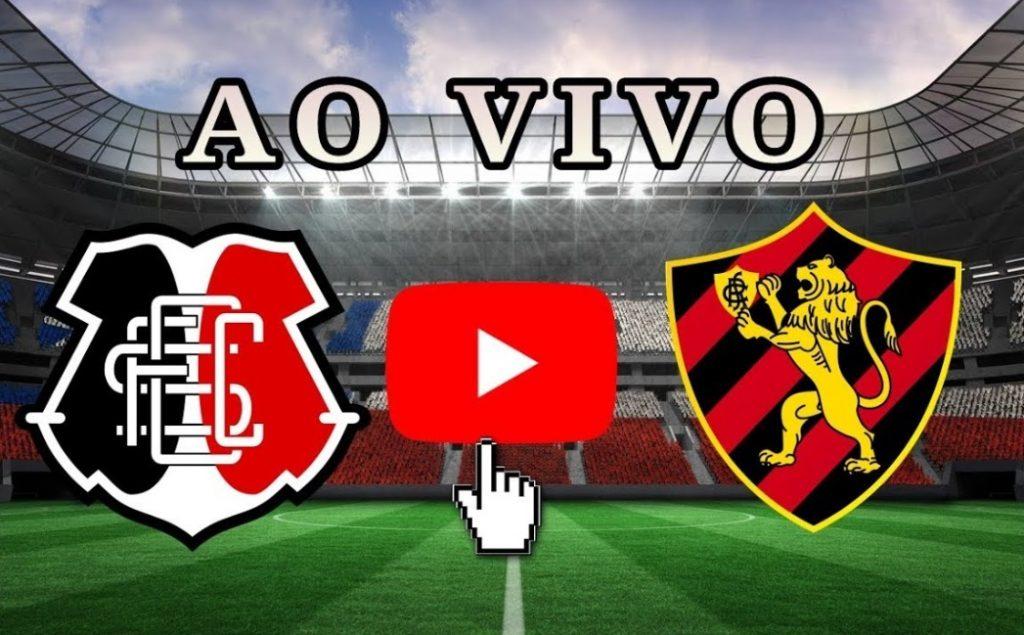 Santa Cruz x Sport ao vivo - Foto/Divulgação