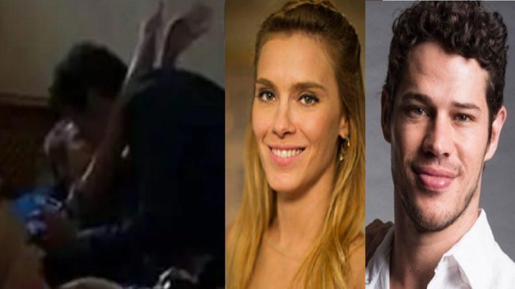 Carolina Dieckmann e Loreto são flagrados em vídeo - Foto/Divulgação