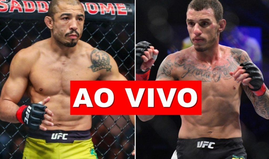 José Aldo x Renato Moicano ao vivo - Foto/Divulgação