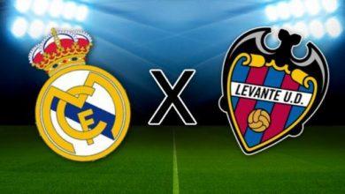 Levante x Real Madrid ao vivo - Foto/Divulgação