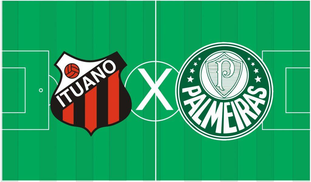 Palmeiras x Ituano ao vivo - Foto/Divulgação