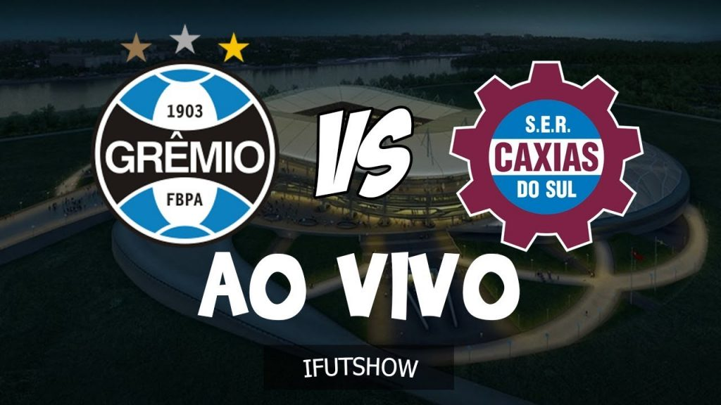 Jogo Grêmio x Caxias ao vivo - Foto/Divulgação