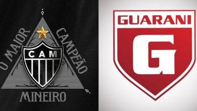 Atlético-MG x Guarani ao vivo - Foto/Divulgação